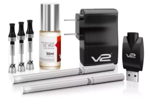 Best Cigalike Electronic Cigarettes: Found, Tested and Reviewed -V2 Cigs Electronic Cigarette Starter Kit Review