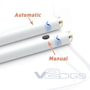 V2 Cigs Electronic Cigarette Starter Kit Review -Automatic or Manual Battery Options