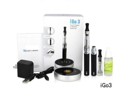 iGo3 (Ego Style) Electronic Cigarette Starter Kit From E_CIG CANADA