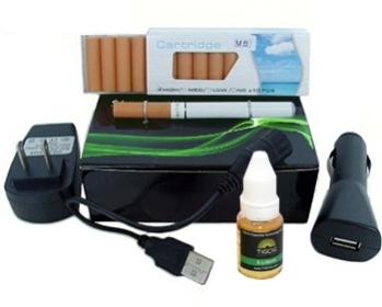 Basic 2 Piece or Cigalike Electronic Cigarette Starter Kit from E-Cig Canada