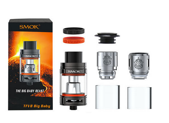 "Best Vape Mods Reviewed: Best Tanks for 2017 Found, Tested and Reviewed. The TFV8 ""Baby Beast"" by SMOKtech, Complete Review"