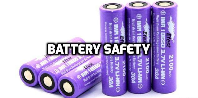 Vaping Basics: Battery Safety Explained